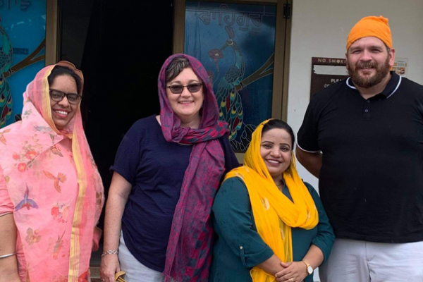 Southern Resilience Project visits Guru Nanak Sikh Mission Temple Gordonvale